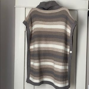 One size knitted Calvin Klein pancho
